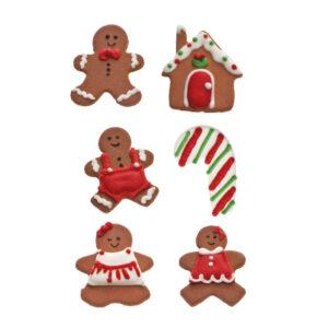 Decoração de Natal em Açúcar