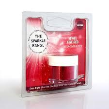 RD - Purpurina Jewel Fire Red
