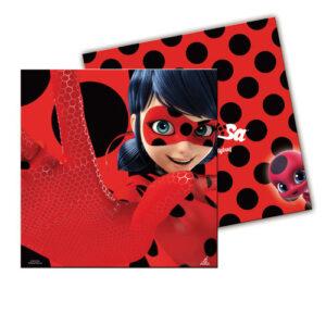 Guardanapos LadyBug 20 uni