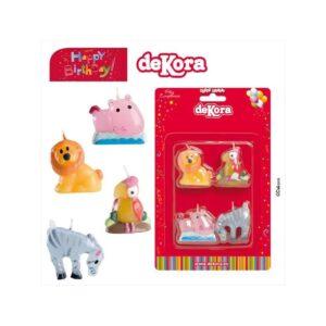 Pack 4 Velas 3D Animais
