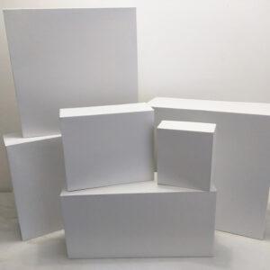 Caixa Branca 20x20