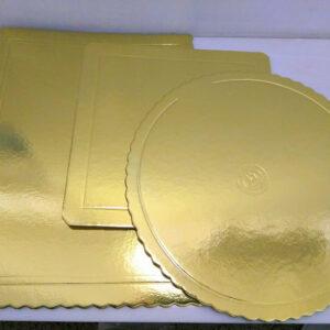 Bases Quadradas Douradas