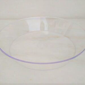 Pratos Plástico Cristal para Pudim