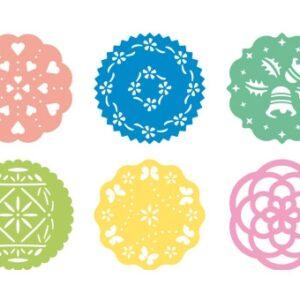 Conj. 6 Moldes Decorativos