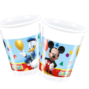 Copos Mickey Playful 8 uni