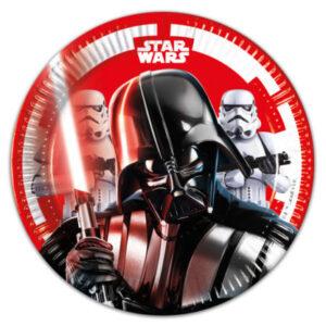 Pratos Star Wars 8 uni