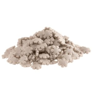 Cakin Confettis Flocos de Neve Prateados 100g
