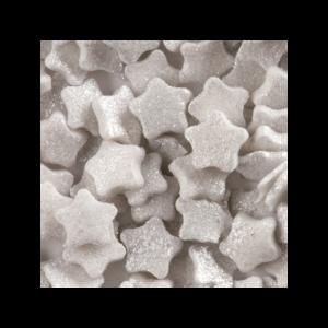 Cakin Confettis Estrelas Prateadas 100g