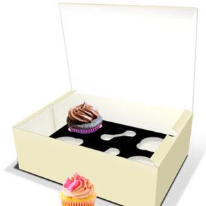 Caixa para 6 Cupcakes