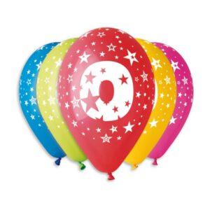 Balão de Latex nº0 Cores Variadas