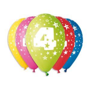 Balão de Latex nº4 Cores Variadas