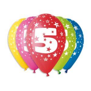 Balão de Latex nº5 Cores Variadas