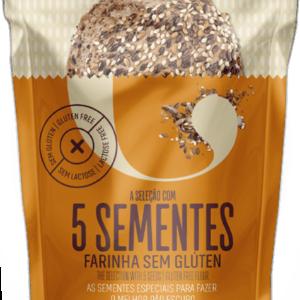 Preparado para Pão de Mistura com 5 Sementes SEM GLÚTEN 1kg