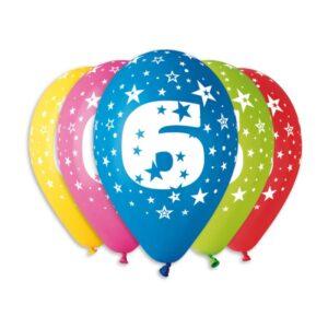 Balão de Latex nº6 Cores Variadas