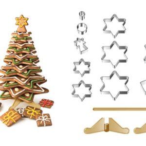 Kit para Árvore de Natal em Bolacha