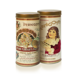 Lata Vintage Pernigotti - Gianduiotti, Cremini e Gemme