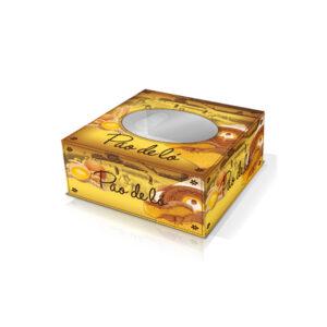 Caixa Pão de Ló com Janela 28x28x13cm