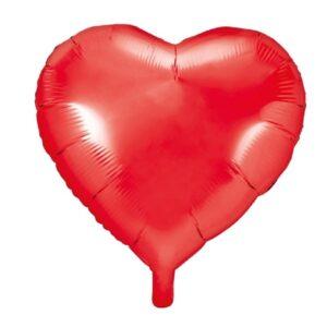 Balão Foil Standard Coração Vermelho
