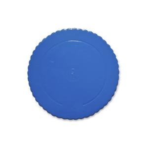 Prato Azul Ondulado 25cm
