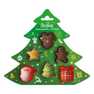 Conjunto 6 Cortantes Natal