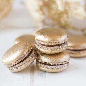 Macarons Dourados Congelados 7 unidades