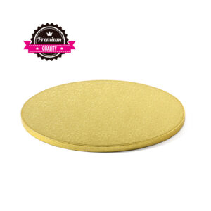 Base Redonda Cake Design Dourada 40x1.2