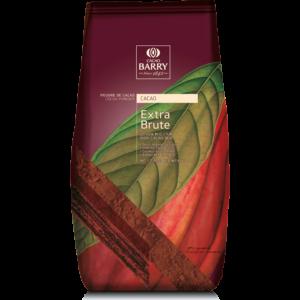 Cacau Puro em Pó 100%-Extra Brute- Cacao Barry