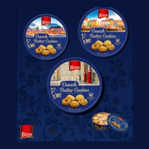 Caixinha de Biscoitos Butter Cookies Bisca