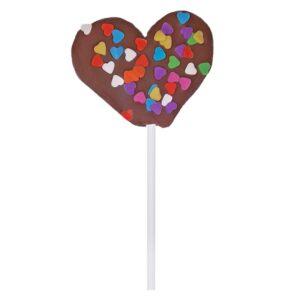 Lollipop de Nuvem e Chocolate
