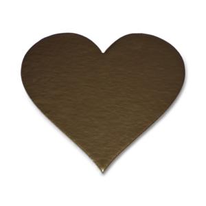 Base Coração Dourado 20cm