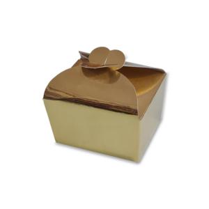 Caixa Ouro com Fecho Borboleta