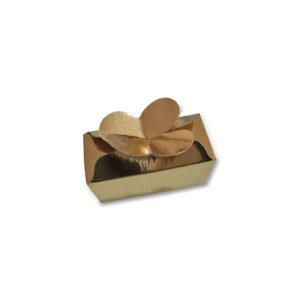 Caixa Ouro para 2 Bombons