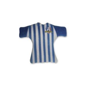 Camisola Futebol Azul decoração Açúcar