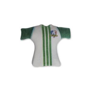 Camisola Futebol Verde decoração Açúcar