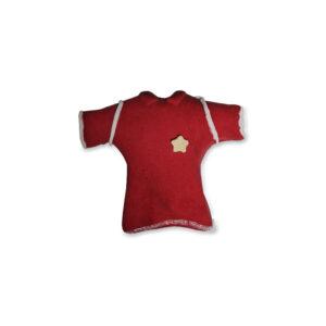 Camisola Vermelha decoração Açúcar