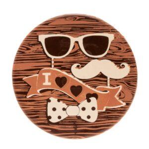 Decoração de Chocolate Dia do Pai Óculos Escuros