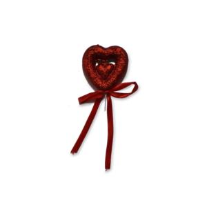 Coração com Purpurina