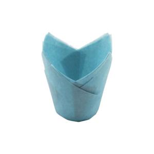 Tulipas de Papel Azul Claro +/-20 unidades