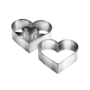 Corta Massas Coração 5,0x4,5cm