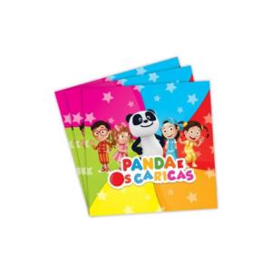 Guardanapos Panda e os Caricas 20 Unidades