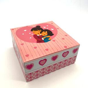 Caixa Especial Mãe com Prato 24x24