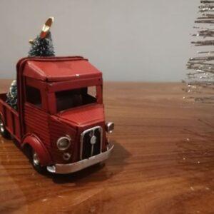 Camião Vermelho Árvore De Natal