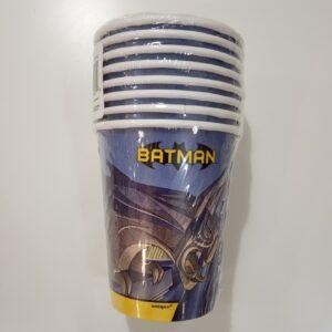 Copos Batman 8 uni