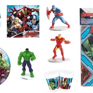 Avengers - Kit Aniversário
