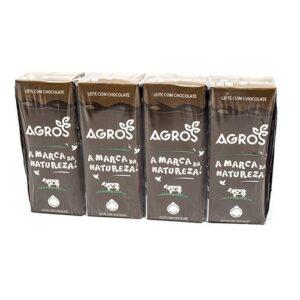 Leite Com Chocolate Agros 4x200ml