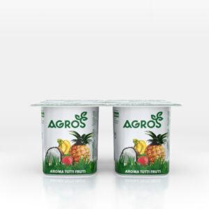 Iogurtes Agros - Aroma Tutti Frutti 4x120ml