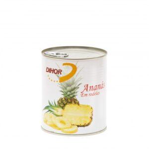Ananás rodelas em calda 490g