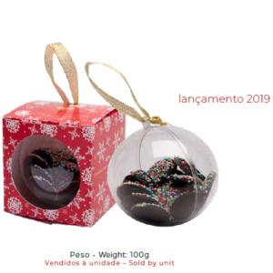 Bola Natal Com Chocolate