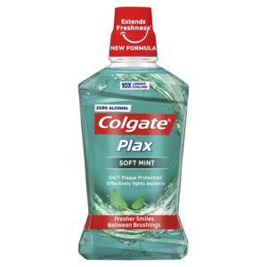 Elixir Bocal Colgate Plax Soft Mint 500 ml