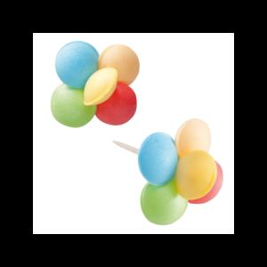 Balões Hóstia coloridos Unid